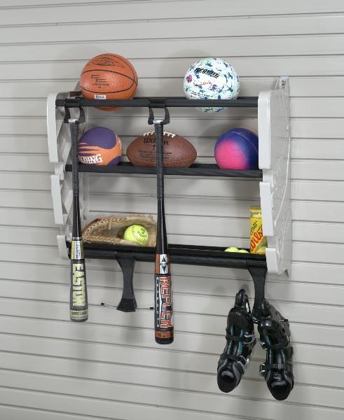Garage Sport Organizer  Easy Ways to Organize Your Garage This Weekend