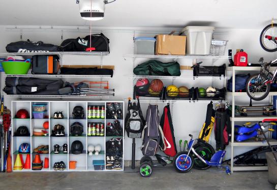 Garage Sport Organizer  IHeart Organizing Reader Space Trash to Treasure Garage