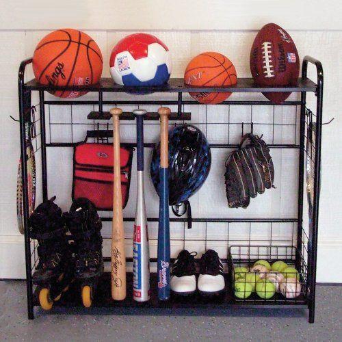 Garage Sport Organizer  Sports Organizer JJ International