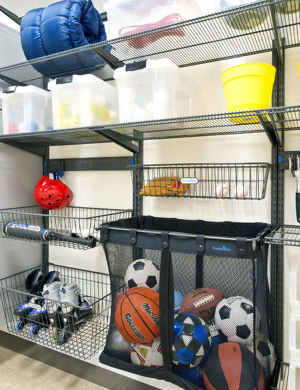 Garage Sport Organizer  Time To Sort Out The Mess – 20 Tips For A Well Organized