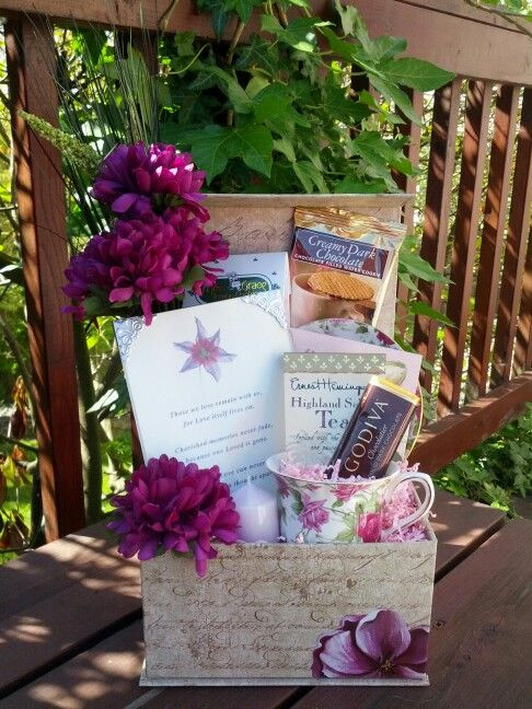 Gift Basket Ideas For Death In Family  1000 images about Sympathy on Pinterest