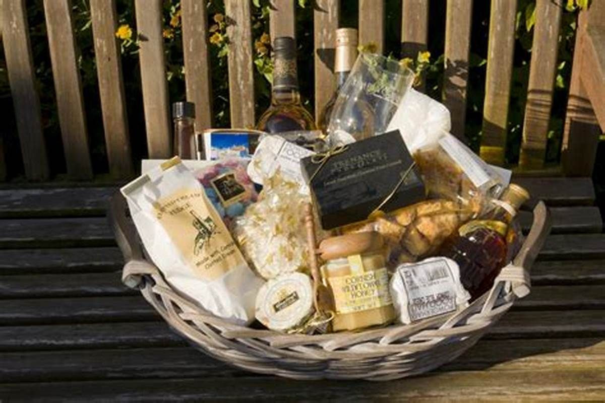 Gift Basket Ideas For Death In Family  Choosing Auction Gift Basket Ideas