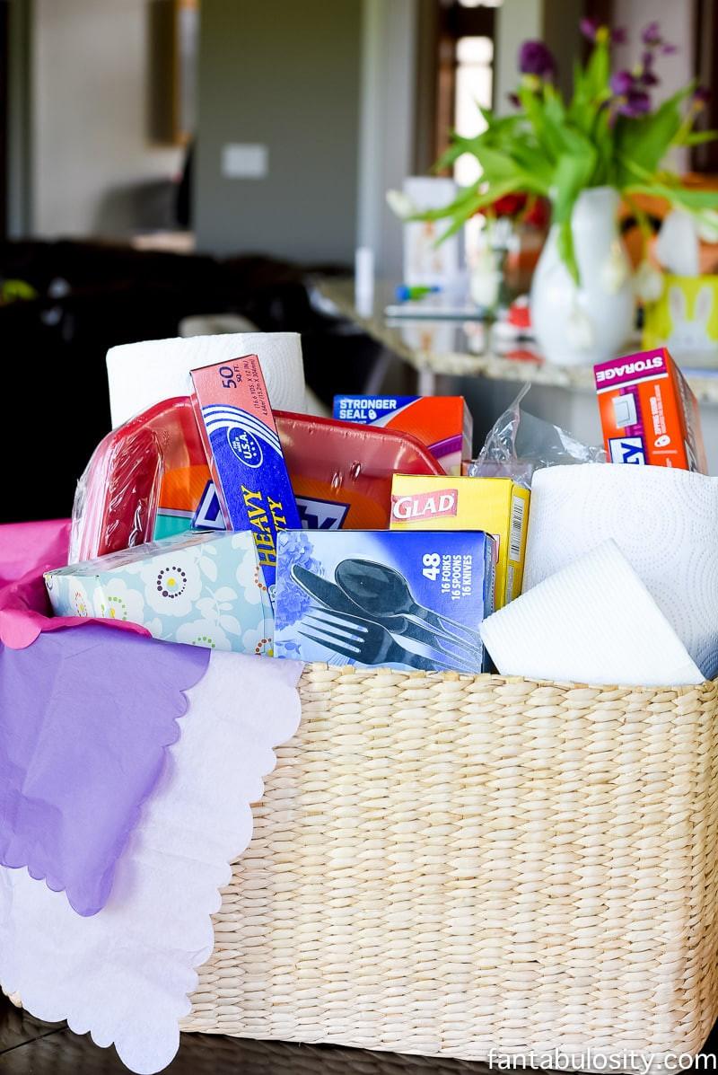 Gift Basket Ideas For Death In Family  Sympathy Gift Basket Idea Fantabulosity
