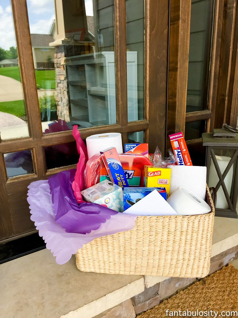 Gift Basket Ideas For Death In Family  Sympathy Gift Basket Idea