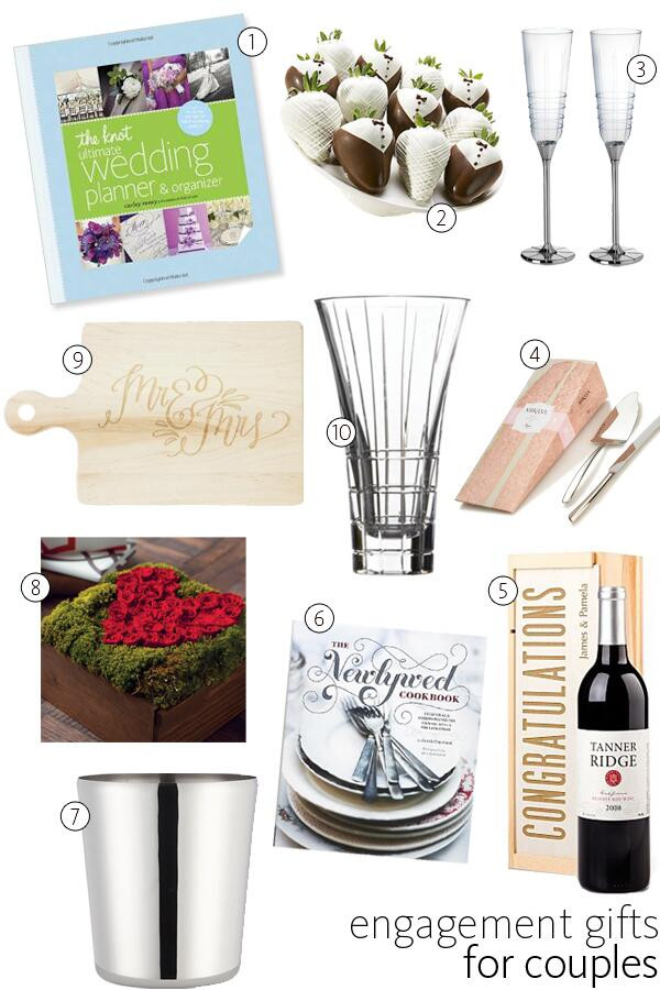 Gift Ideas For Engaged Couples  56 Engagement Gift Ideas