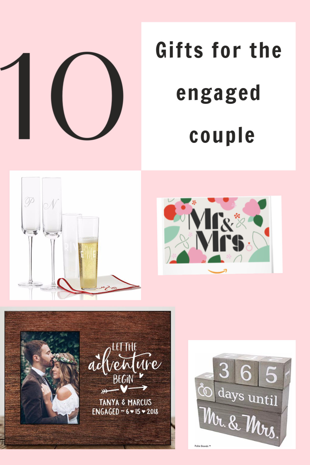 Gift Ideas For Engaged Couples  10 Cute Gift Ideas for the Engaged Couple