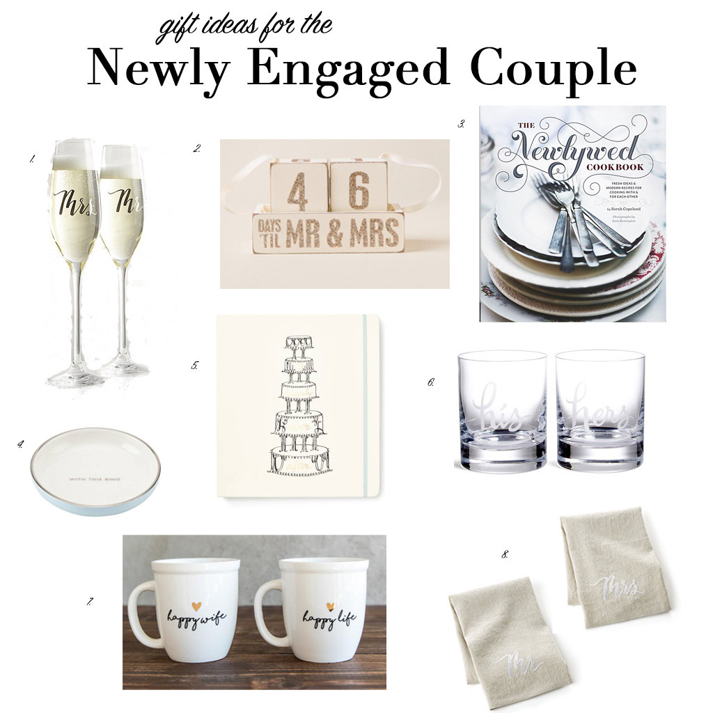 Gift Ideas For Engaged Couples  Gift Ideas for the Newly Engaged Couple