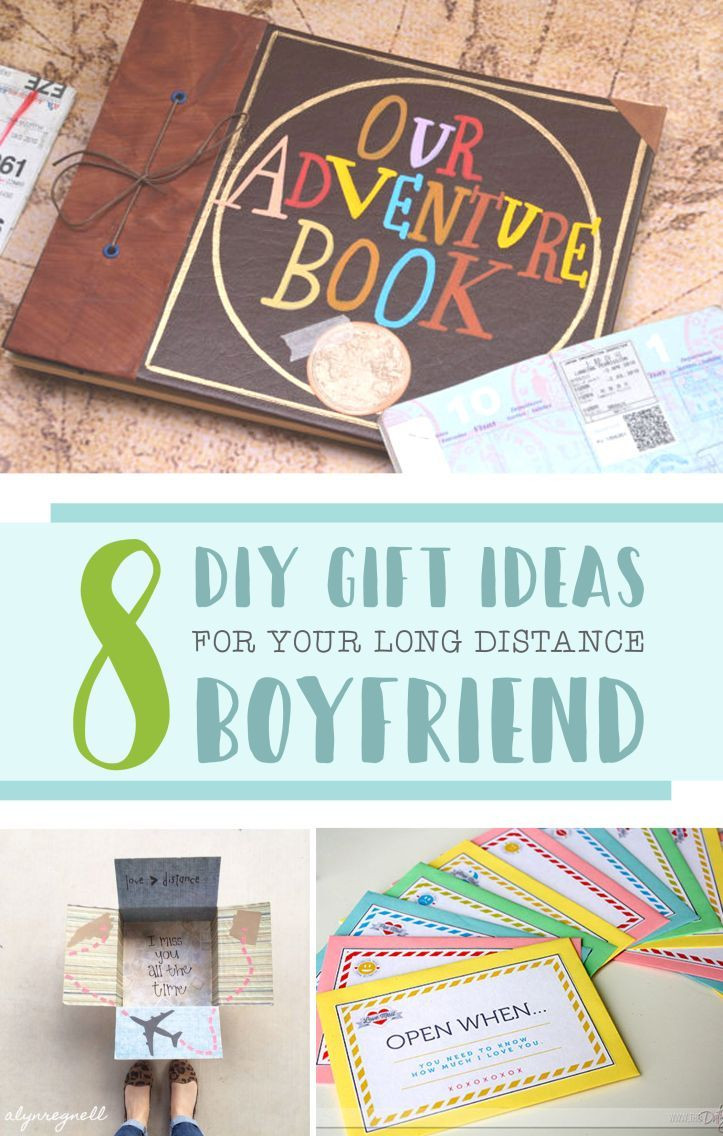 Gift Ideas For Traveling Boyfriend  8 DIY Gift Ideas for Your Long Distance Boyfriend