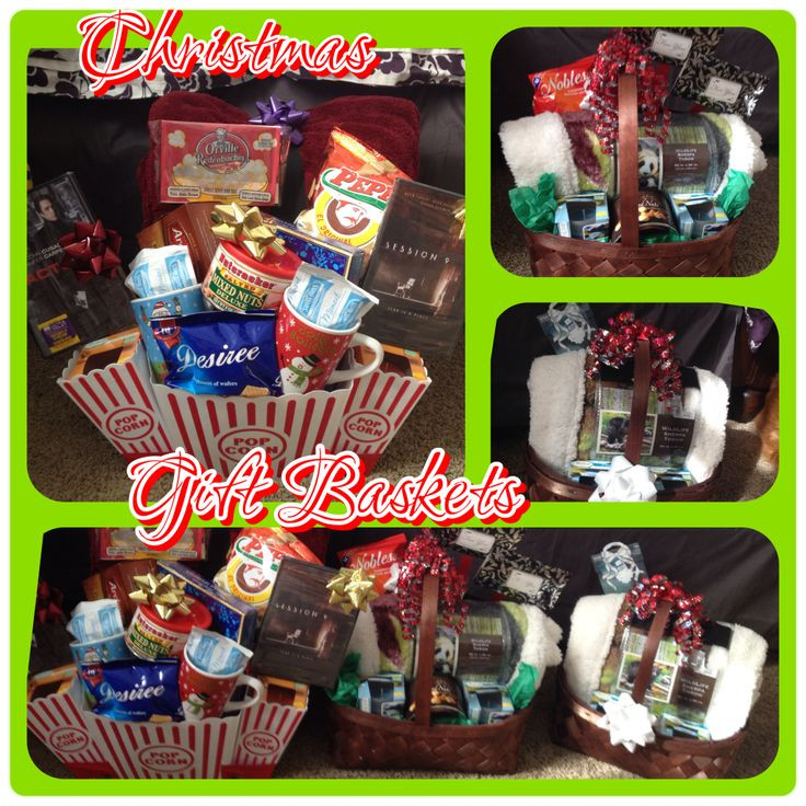 Gift Ideas For Young Couple  Cozy date night t baskets My creations