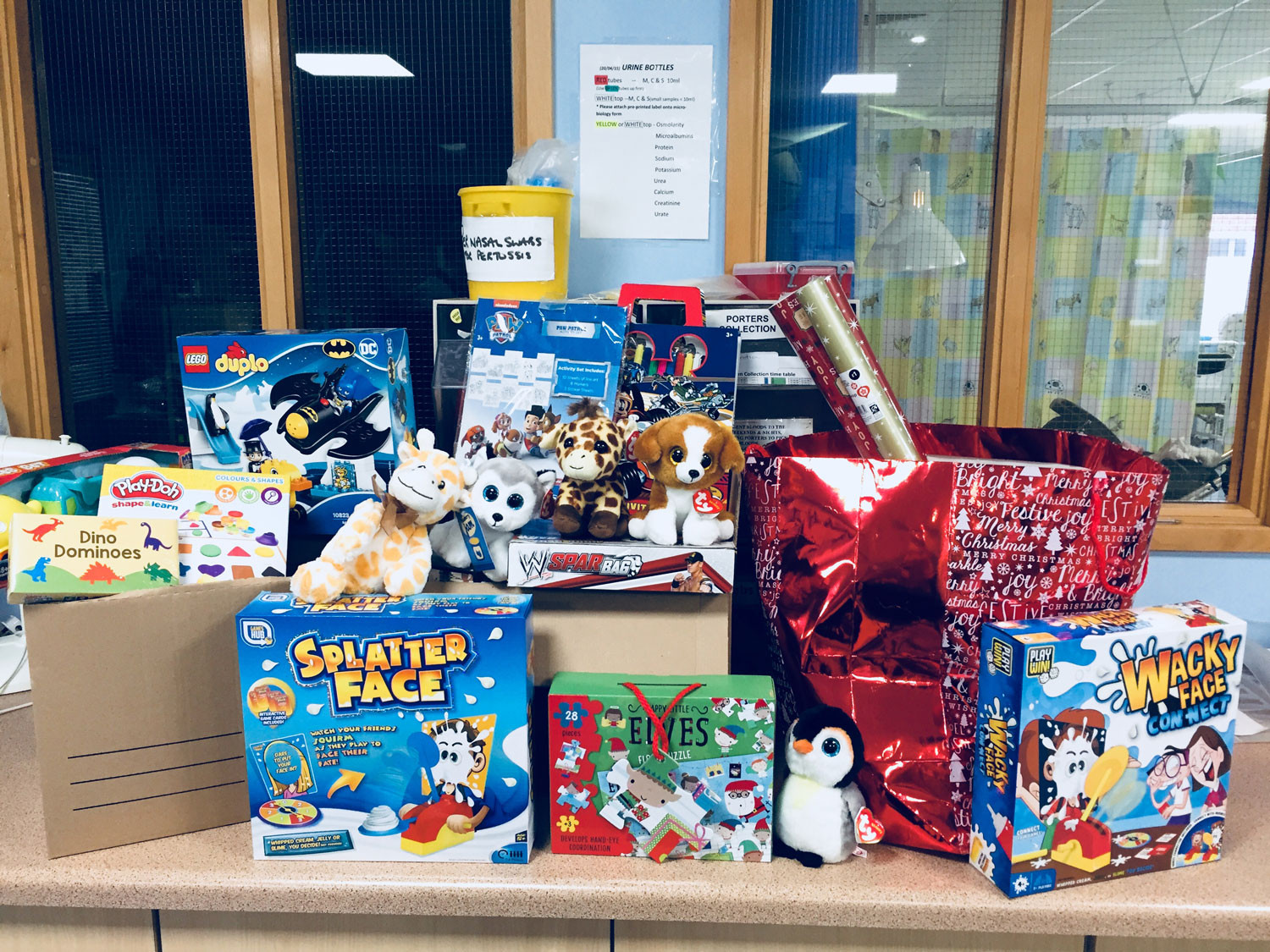 Gifts For Gifted Children  Christmas Gifts donated to Children's Ward