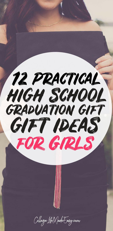 Girls High School Graduation Gift Ideas  12 Original & Inexpensive High School Graduation Gifts