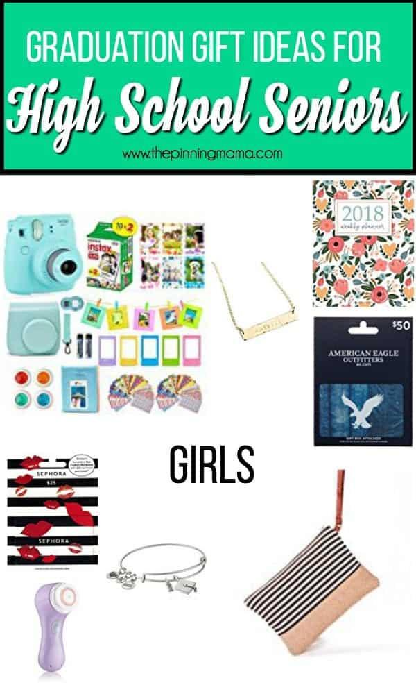 Girls High School Graduation Gift Ideas  High School Graduation Gift ideas • The Pinning Mama
