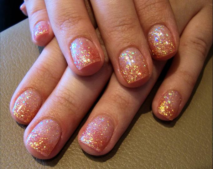 Glitter Nail Designs For Short Nails  70 Most Beautiful Gel Nail Art Ideas