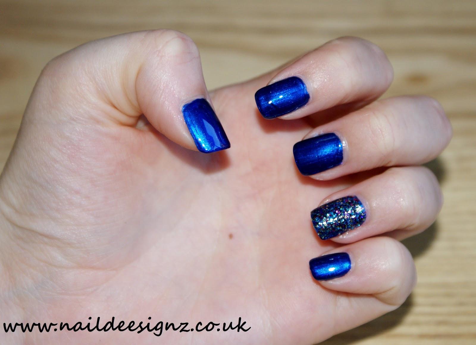 Glitter Nail Designs For Short Nails  Christine s Nail Designs Easy Nail Designs For Short