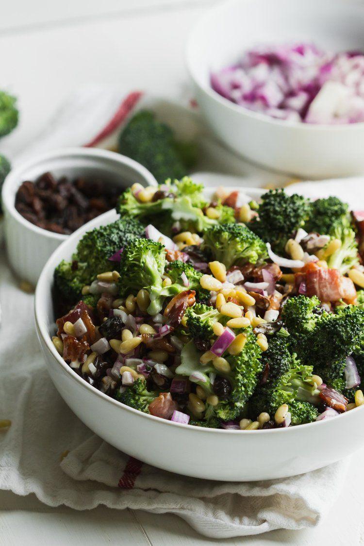 Gluten Free Side Dishes Summer  Paleo Summer Broccoli Salad This gluten free dairy free