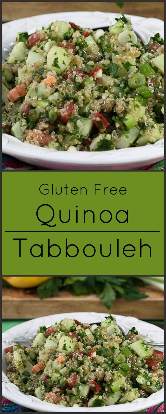 Gluten Free Side Dishes Summer  Quinoa Tabbouleh Gluten Free Side Dishes What A Girl Eats