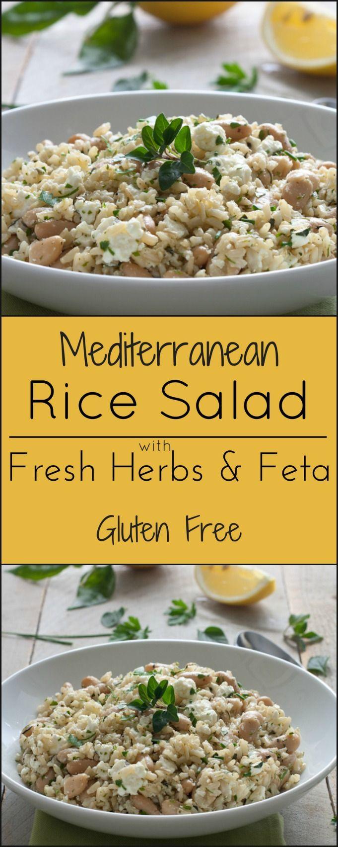 Gluten Free Side Dishes Summer  Gluten free summer side dish Mediterranean Rice Salad