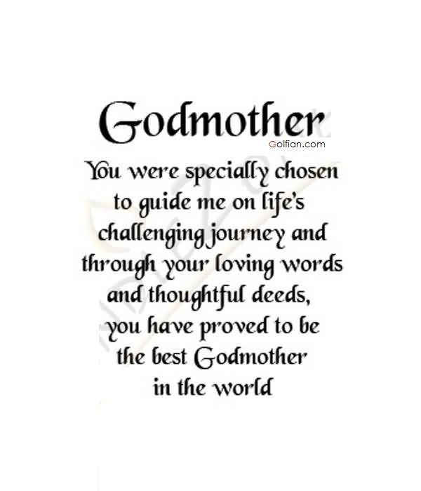 Godmother Quotes  GodMother – Poets Afterthought