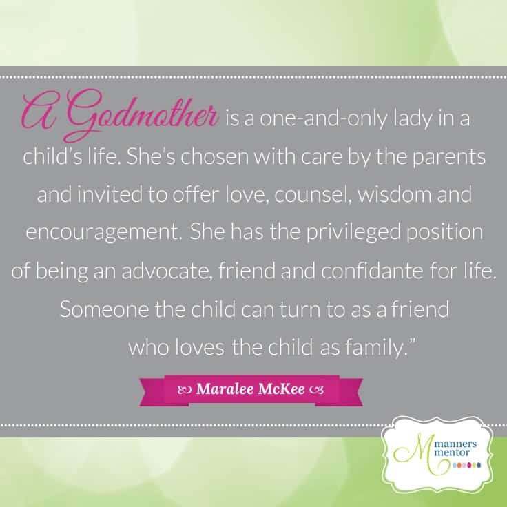 Godmother Quotes  Five Ways to Be a Fantastic Godmother