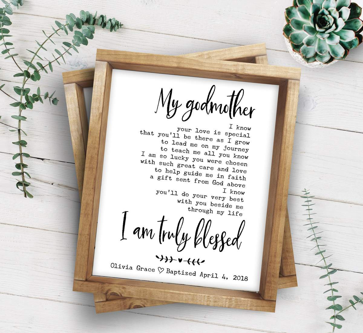 Godmother Quotes  Godmother Poem Godmother Christening Gift
