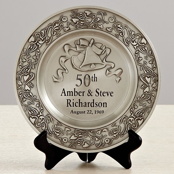 Golden Anniversary Gift Ideas  50th Anniversary Gifts for Golden Wedding Anniversaries