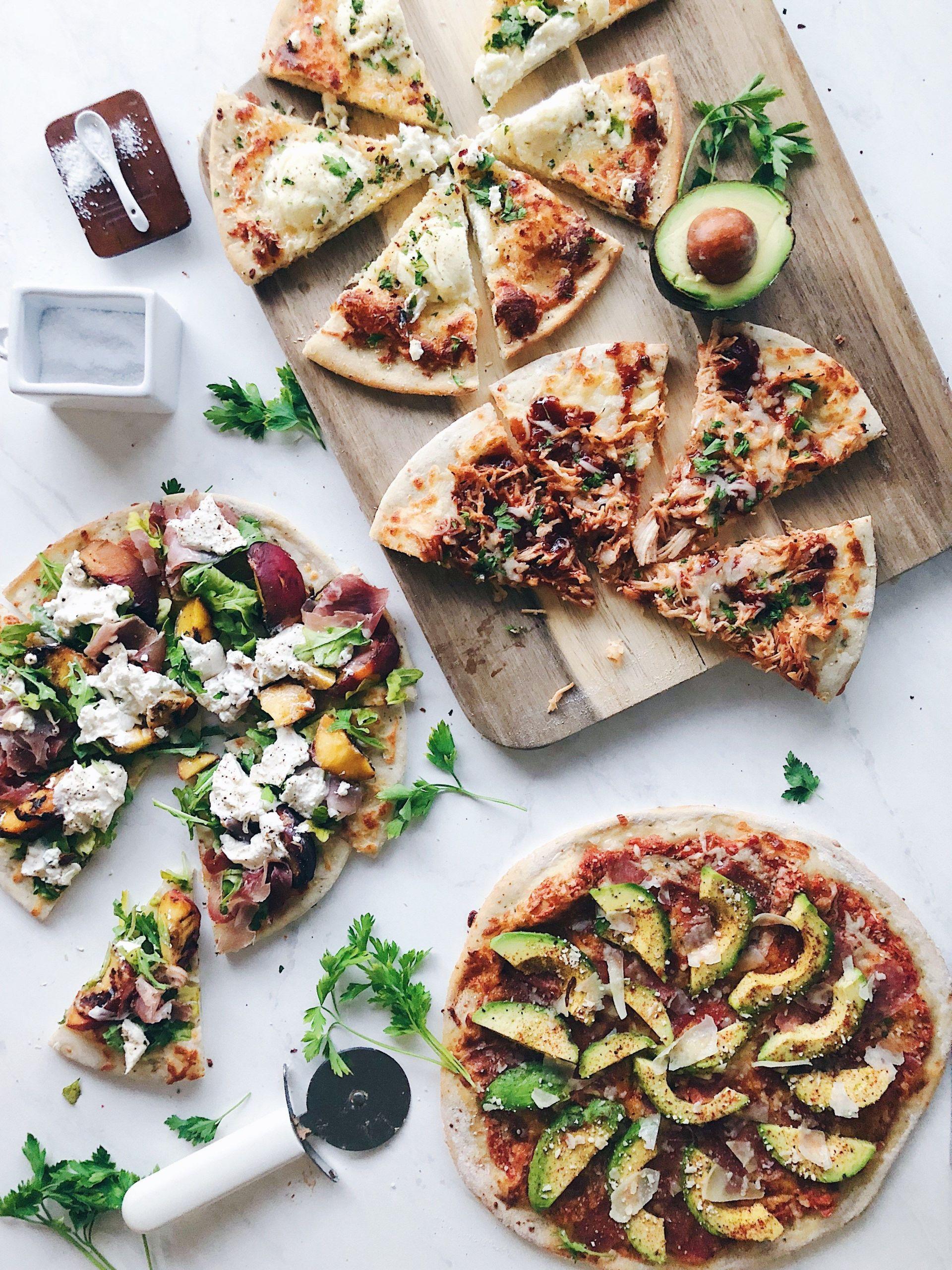 Gourmet Pizza Dough Recipe  Unfed Sourdough Starter Pizza Crust – The Buttery Whisk