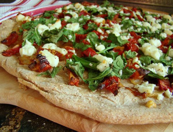 Gourmet Pizza Dough Recipe  Ww Gourmet Pizza Recipe Food