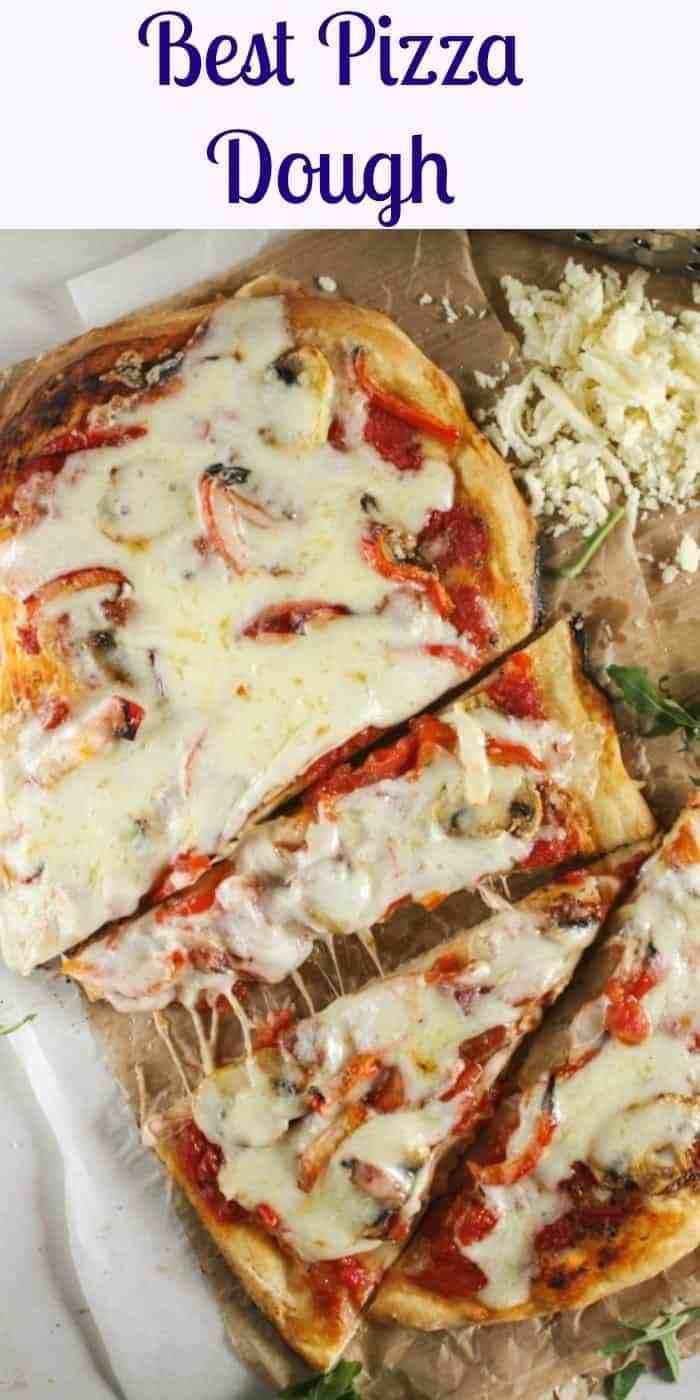 Gourmet Pizza Dough Recipe  Best Pizza Dough an easy homemade pizza dough recipe