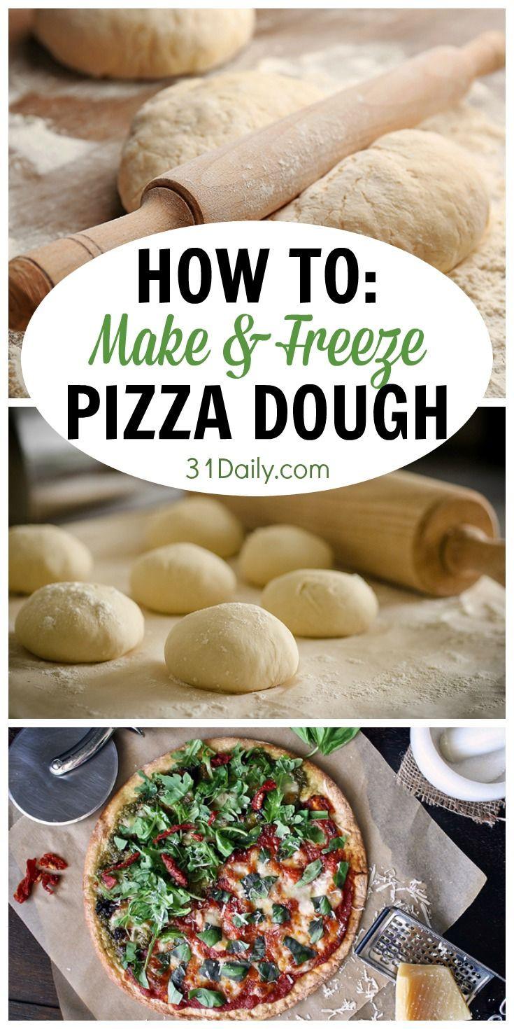 Gourmet Pizza Dough Recipe  How to Make and Freeze a Favorite Pizza Dough Recipe