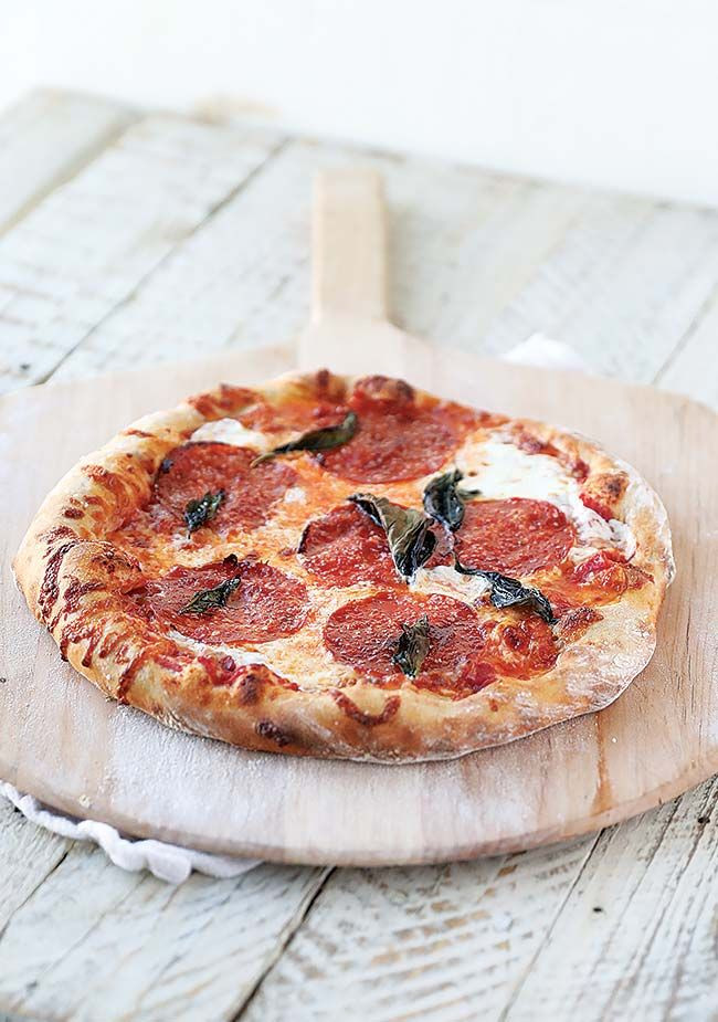Gourmet Pizza Dough Recipe  Homemade Pizza with Homemade Pizza Dough Recipe