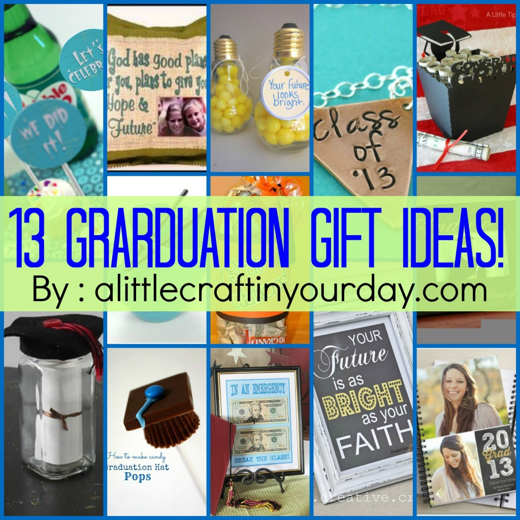 Graduation Day Gift Ideas  13 Graduation ideas A Little Craft In Your Day