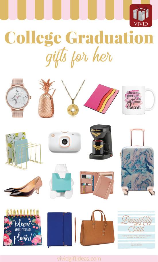 Graduation Day Gift Ideas  19 Unique College Graduation Gift Ideas for Girls Vivid s