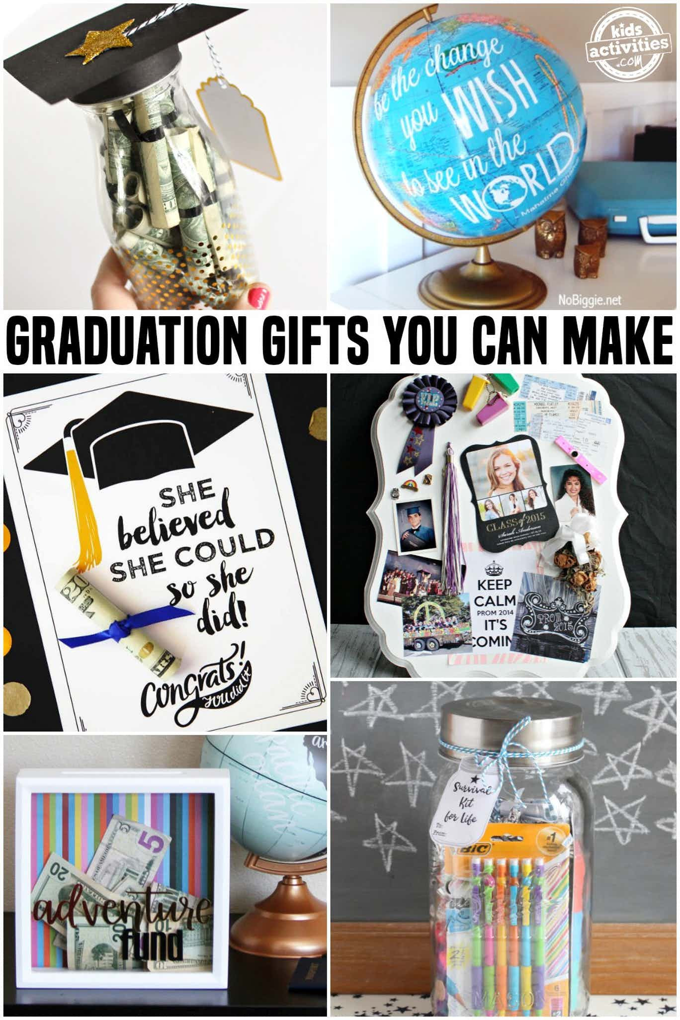Graduation Day Gift Ideas  Awesome Graduation Gifts You Can Make At Home