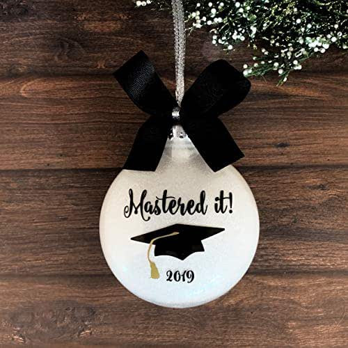 Graduation Gift Ideas For Her Masters Degree  Amazon Graduation Ornament Masters Graduation Gifts