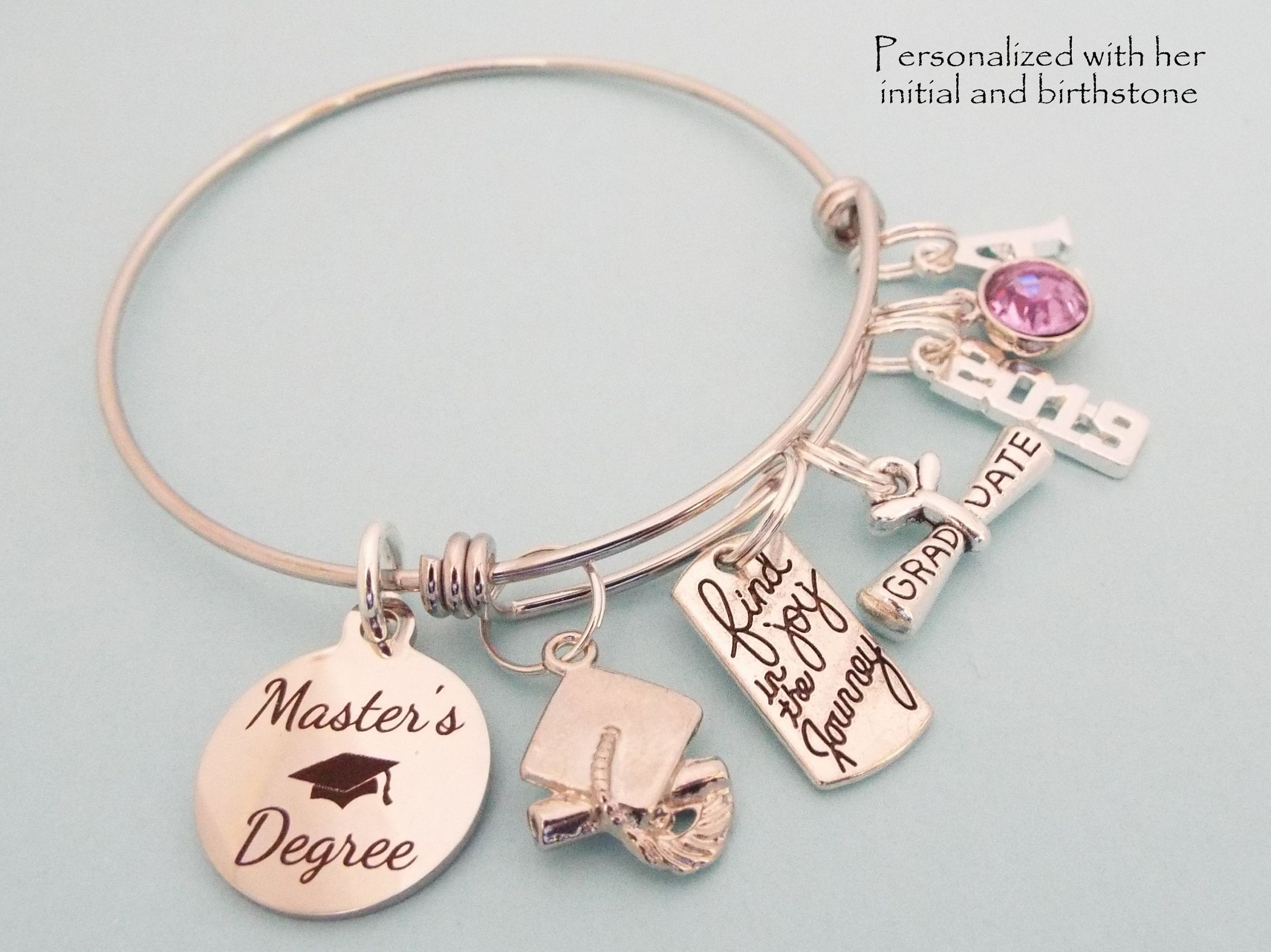 Graduation Gift Ideas For Her Masters Degree  Master s Degree Graduation Gift Masters Degree Charm