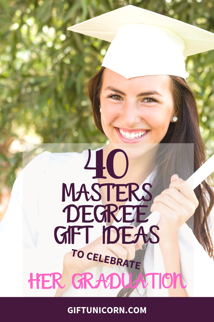 Graduation Gift Ideas For Her Masters Degree  40 Gift Ideas to Celebrate Her Master s Degree