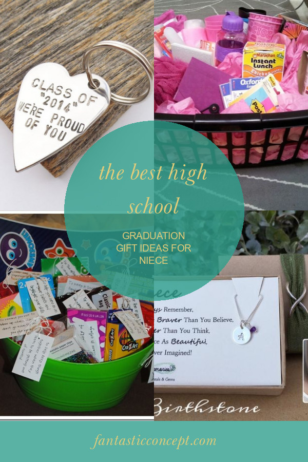 Graduation Gift Ideas For Niece  The Best High School Graduation Gift Ideas for Niece