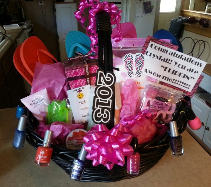 Graduation Gift Ideas For Niece  Great Graduation Gift for a girl Made this one for my