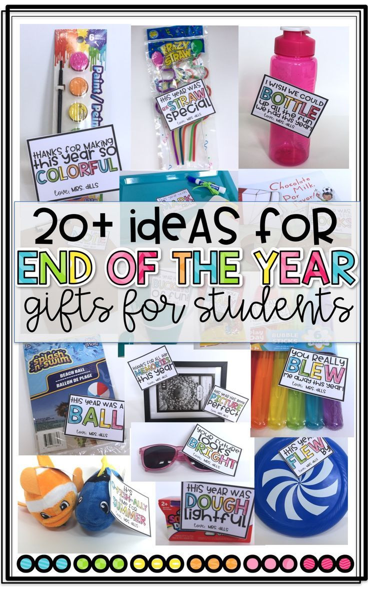 Graduation Gift Ideas For Teachers  20 End of the Year Gift Ideas for Students