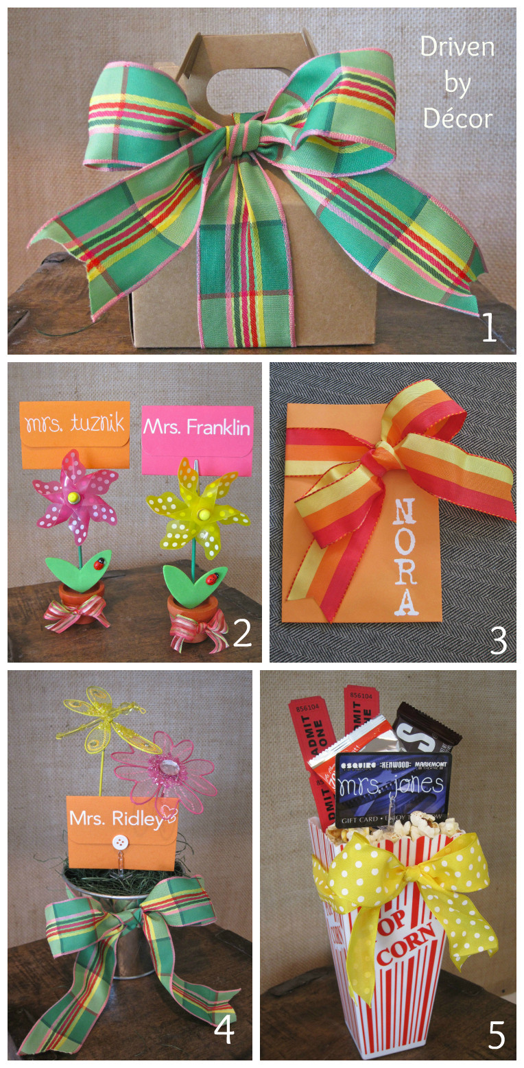 Graduation Gift Ideas For Teachers  Teacher & Graduation Gifts Simple Ways to Dress up a Gift
