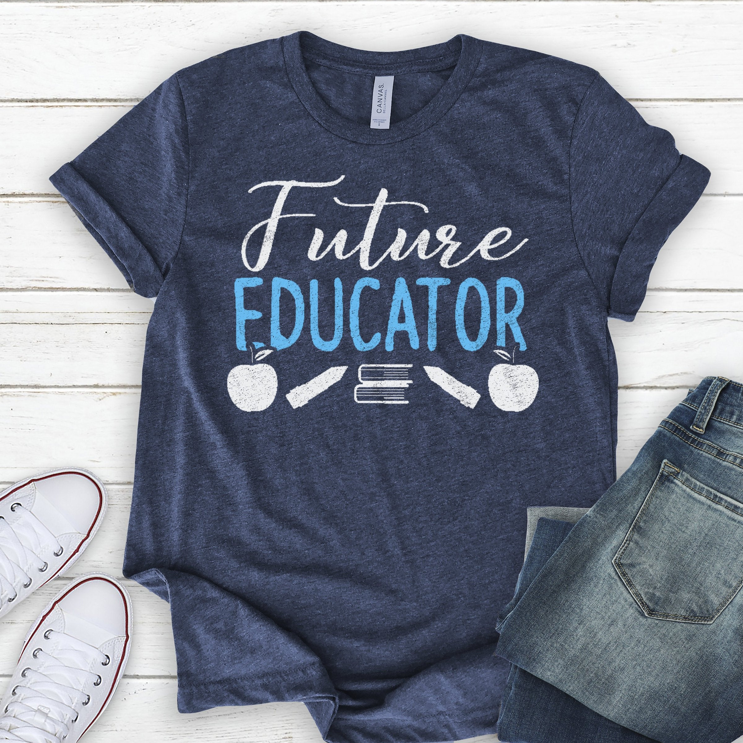 Graduation Gift Ideas For Teachers  Future Teacher School Shirt Graduation Gift Ideas College