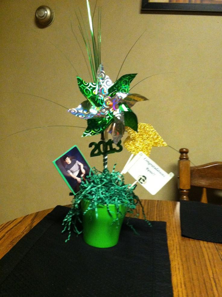Graduation Party Centerpiece Ideas  25 best images about Graduation decorations ideas on