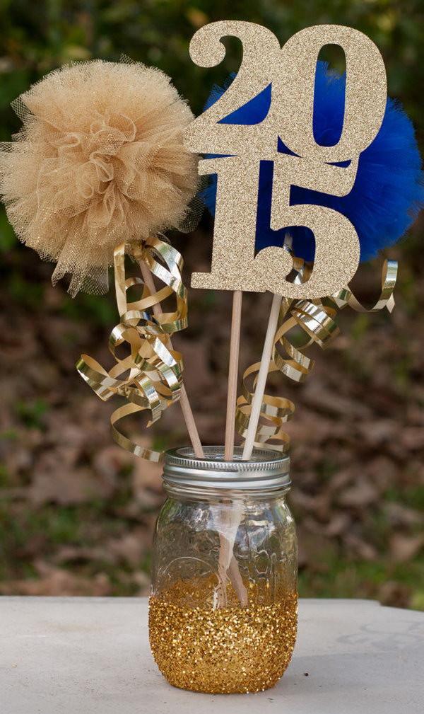Graduation Party Centerpiece Ideas  25 DIY Graduation Party Decoration Ideas Hative