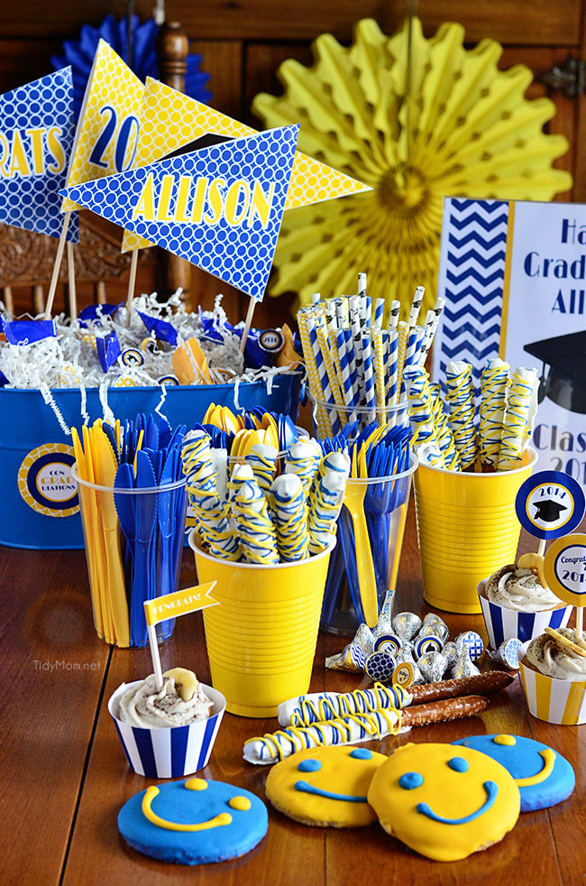 Graduation Party Centerpiece Ideas  25 Killer Ideas to Throw an Amazing Graduation Party