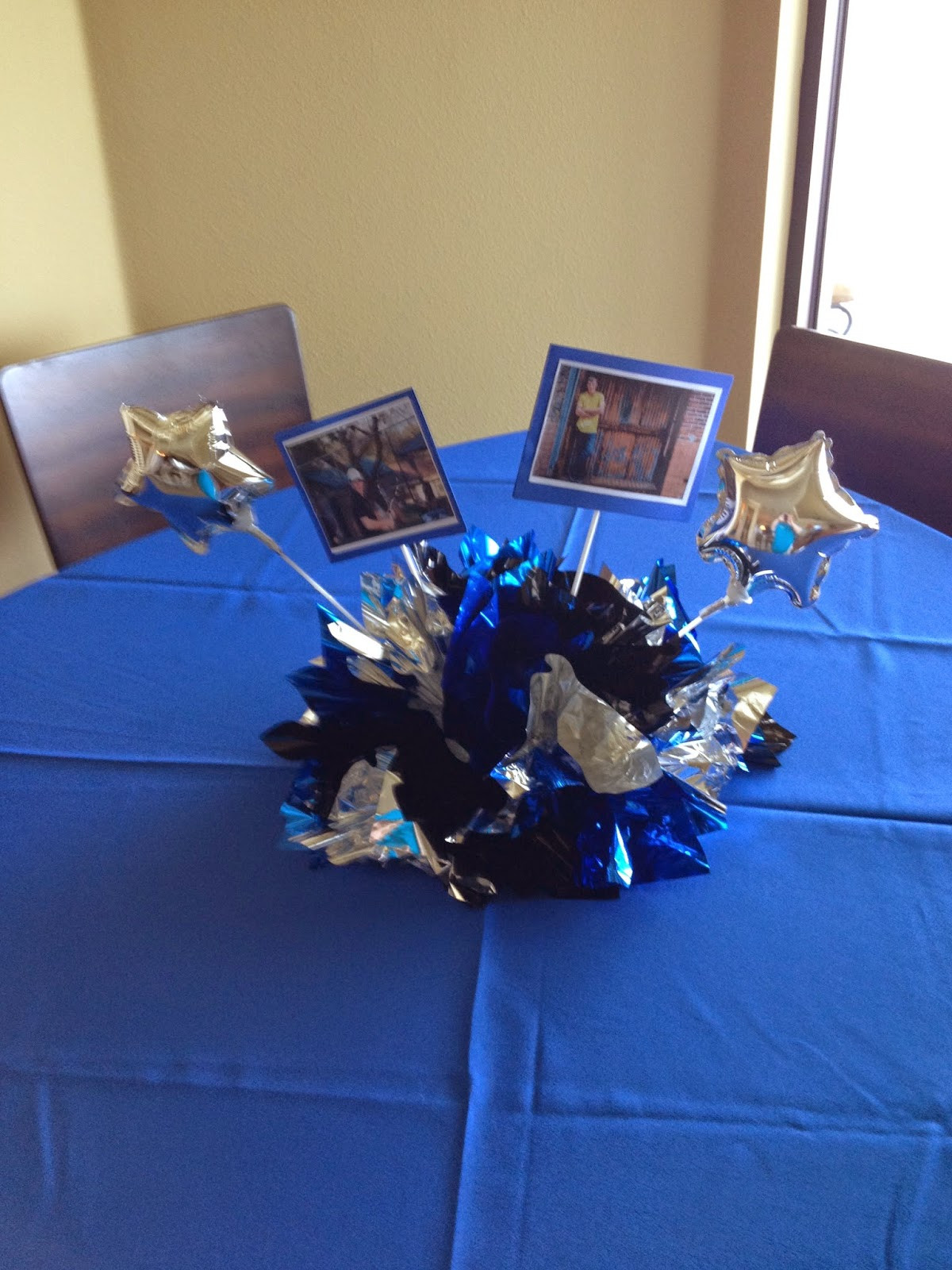Graduation Party Centerpiece Ideas  Party People Event Decorating pany Fabric and Balloon