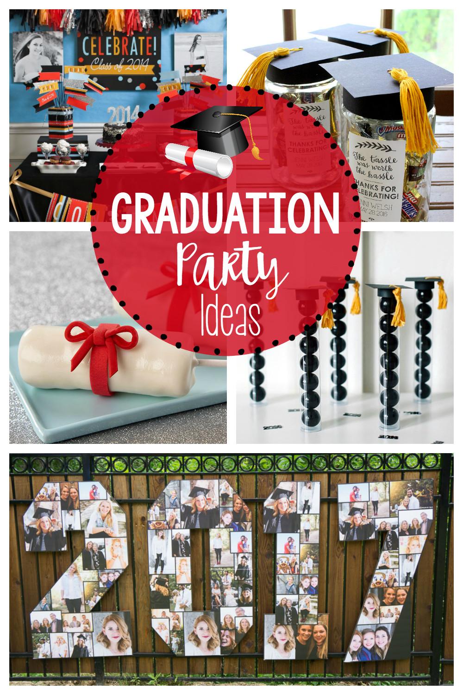 Graduation Party Centerpiece Ideas  25 Fun Graduation Party Ideas – Fun Squared
