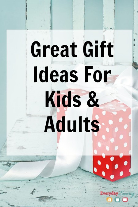 Great Gift Ideas For Kids  Great Gift Ideas Everyday Savvy