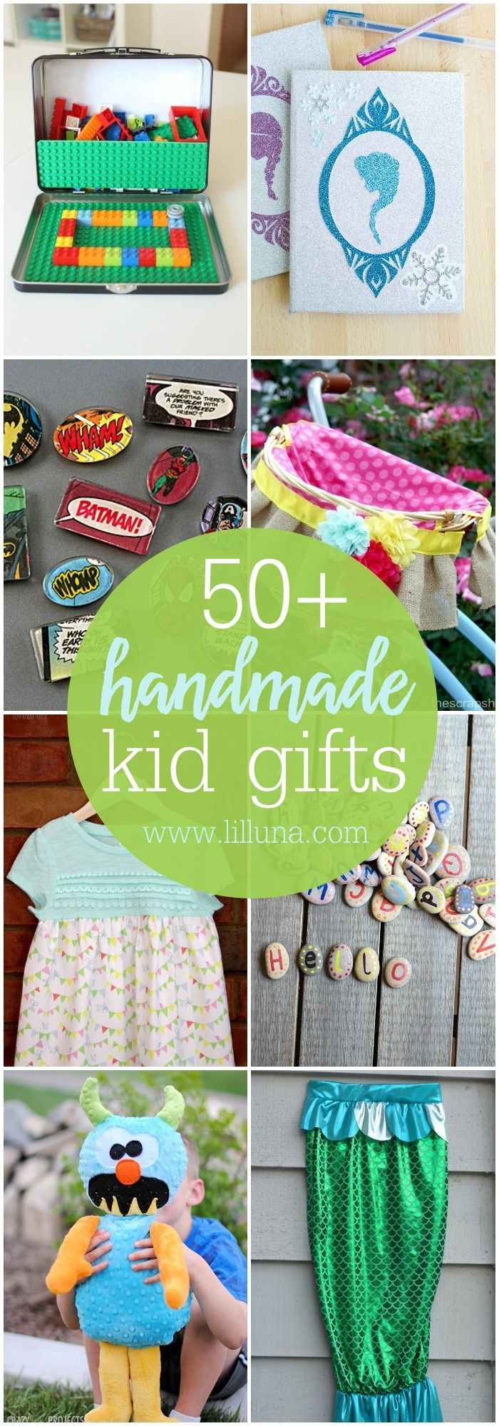 Great Gift Ideas For Kids  50 Handmade Gift ideas for Kids so many great ideas to