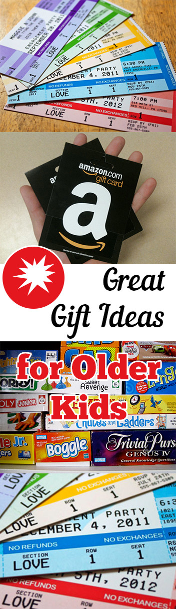 Great Gift Ideas For Kids  Gift Ideas for Older Kids – My List of Lists