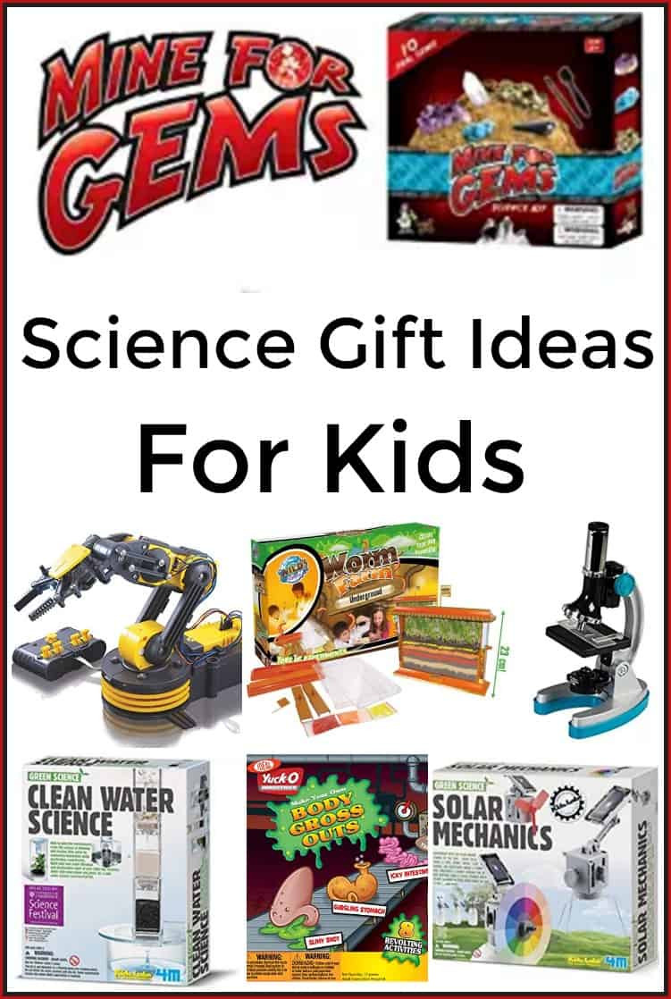 Great Gift Ideas For Kids  Science Gift Ideas for Kids 7 Gifts for the kid who